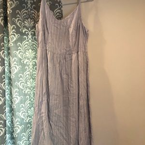 Lilac old navy midi dress